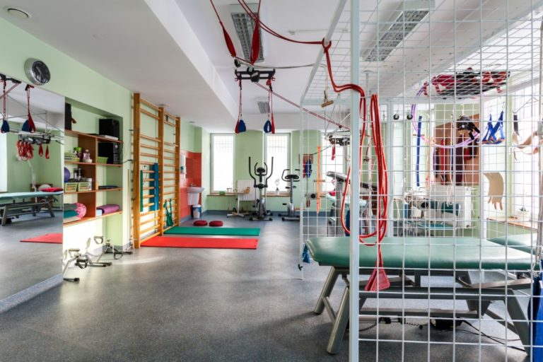 Newly built gym with complete facilities