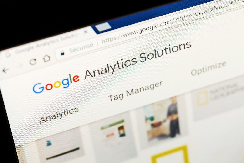 digital marketing: google analytics