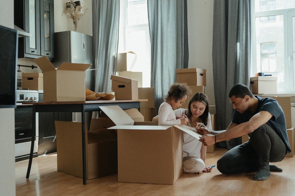 family unpacking