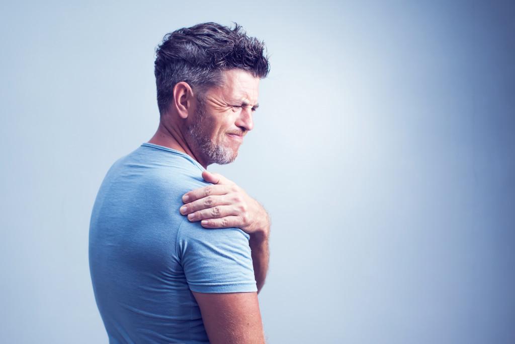 chronic pain concept