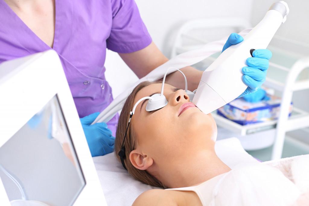 dermatologist at work